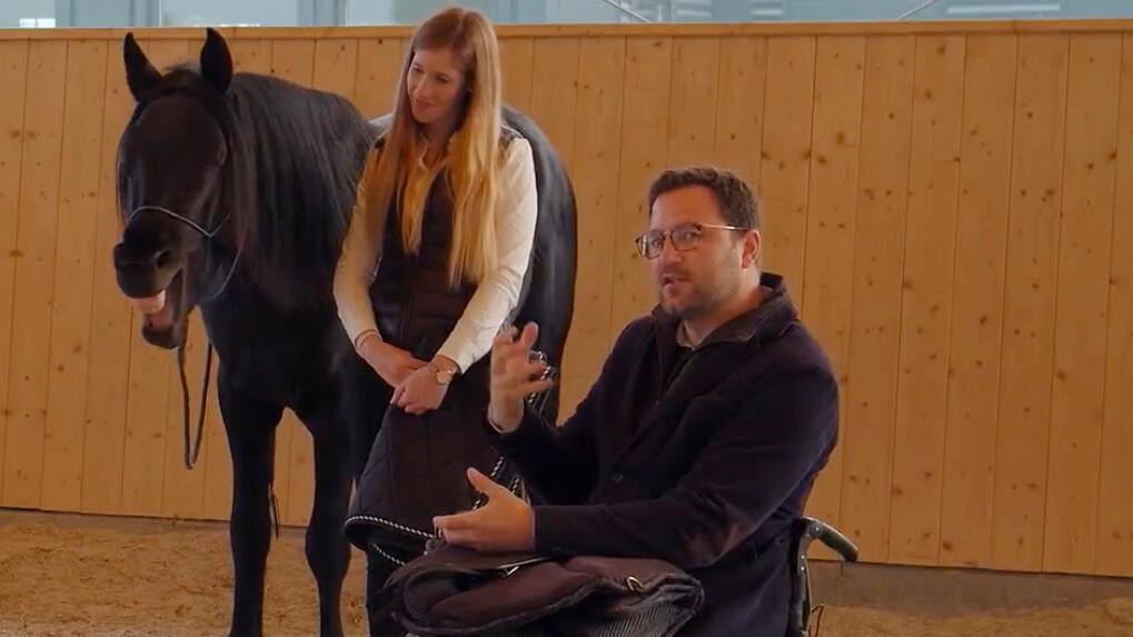 Übersprungshandlung bei Pferden mit Timo Ameruoso